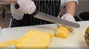 Mercer Culinary Millennia Granton 14'' Edge Slicer