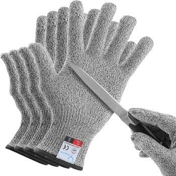 YINENN Oyster Shucking Gloves- 2 Pairs (4 Gloves)
