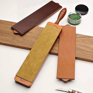 use a leather strop to get all the burr removed