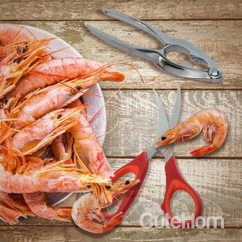 CuteHom 3 pieces Shrimp Deveiner Set