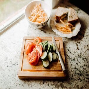 Thirteen Chefs Villa Acacia Small Wood Cutting Board