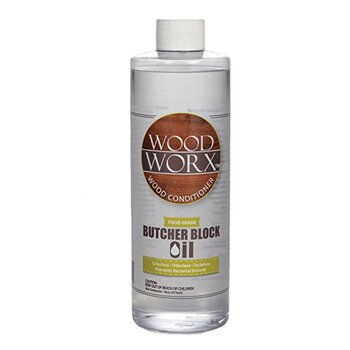 WoodWorx Butcher Block and Cutting Board Oil