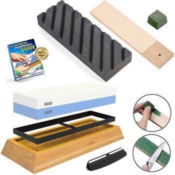 Culinary Obsession Knife Sharpening Stone Kit