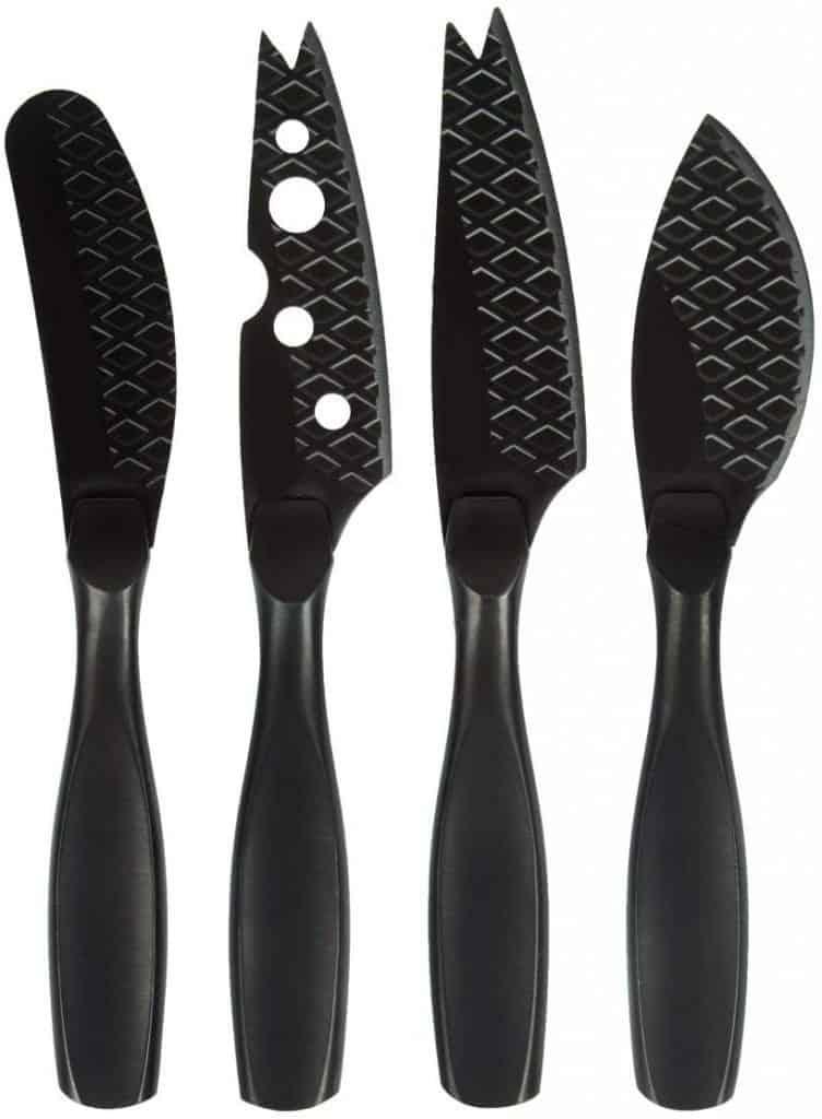 Boska Monaco black mini knife set
