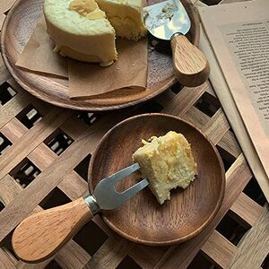 Bekith 8-pieces Travel Cheese Knives Set