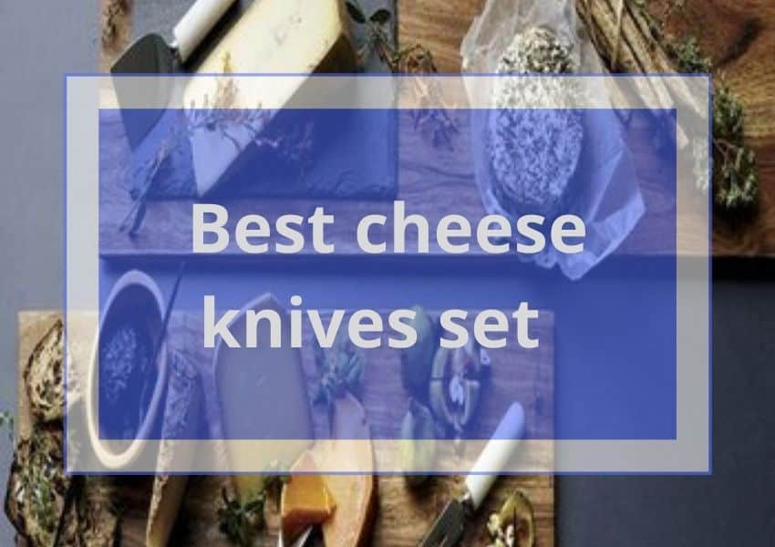 Best cheese knives set