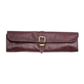 Boldrick leather knife bag