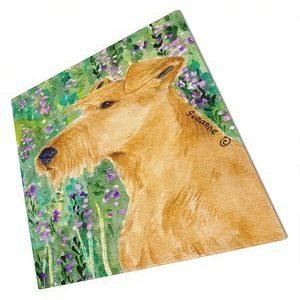 Caroline's Treasures Irish Terrier Glass Cutting Board