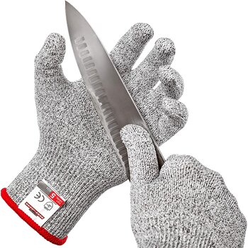 HereToGear Level 5 Protection Cut Resistant Gloves