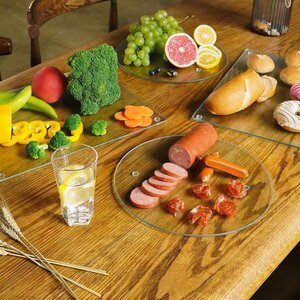 Murrey Home Tempered Glass Set of 4 Cutting Board