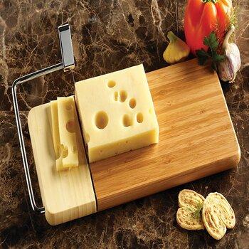 Prodyne Bamboo base Cheese Slicer
