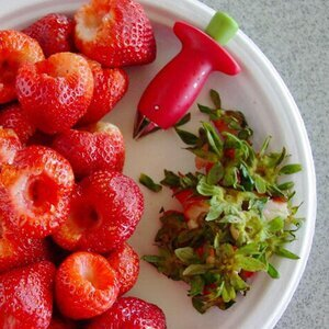 why use a strawberry huller and not any other alternatives