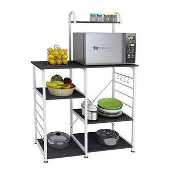 DlandHome Microwave Cart | Spice Rack Organizer
