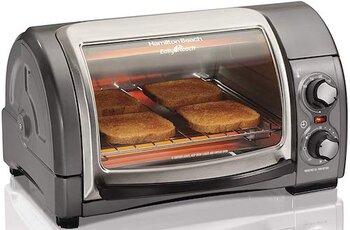 Hamilton Beach Toaster Oven 31344D Easy Reach