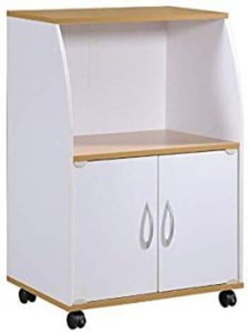 Hodedah |Mini Microwave Cart