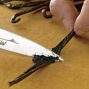 How to Use a Paring knife for Scraping out Vanilla Beans