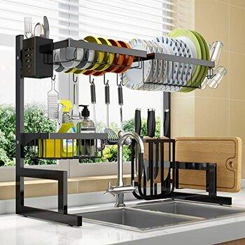 LONOVE Over The Sink Dish Drying Racks
