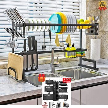 Topkitch Over The Sink Dish Drying Racks