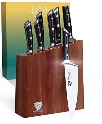 Dalstrong Gladiator Series Knife Set Block  8 pieces set