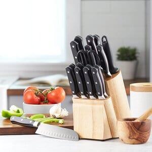 Amazon Basics Premium 18Pcs Knife block Set