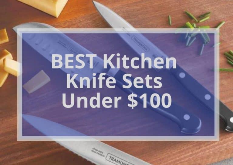 10 BEST KITCHEN KNIFE SET UNDER $100 in 2021 Buyer's Guide