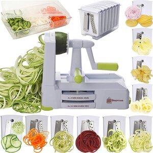 Brieftons 10-Blade Vegetables Spiralizer