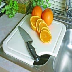 Camco 43857 RV Sink Mate Cutting Board (White)