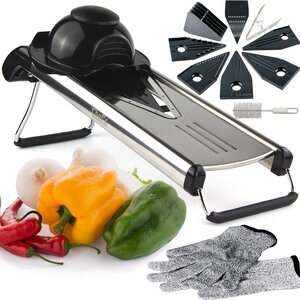 Chef's INSPIRATIONS Premium V-Blade Mandoline Slicer
