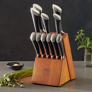 Chicago Cutlery Fusion 12-Piece Knife Block Set