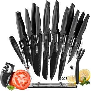 Home Hero 17Pcs dishwasher safe knives Set