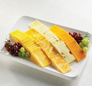 How to cut rectangular cheese?