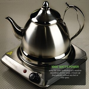 OVENTE BGI101S Single Plate Portable Electric stoves