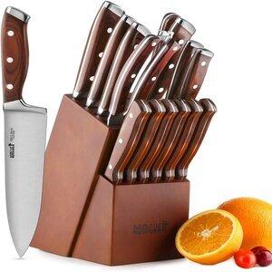 Romeker 15-Piece Knife Set