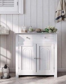 Vasagle FreeStanding UBBC61WT Kitchen Cabinet