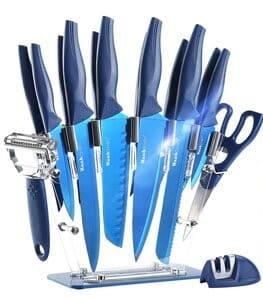 Wanbasion professional 16 Pcs knives set