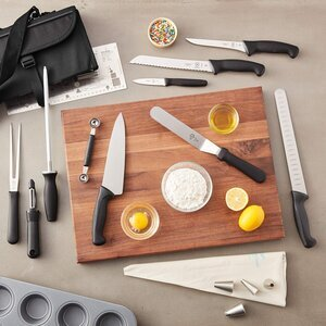 Wusthof Trident 8792 9 Piece Forged Knife Roll Set
