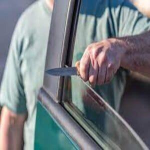 Sharpen Knives Using a Car Window