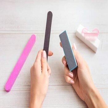 Sharpen Knives Using a Nail File