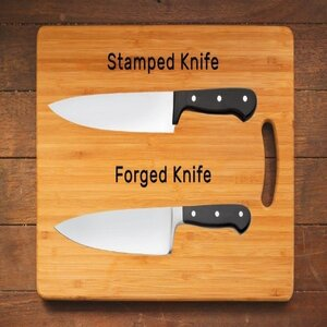 Stamped or forged blades
