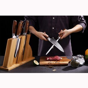 TUO Cutlery Fiery Series 8pcs Knives Set