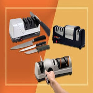 What are the advantages and disadvantages of electric sharpeners
