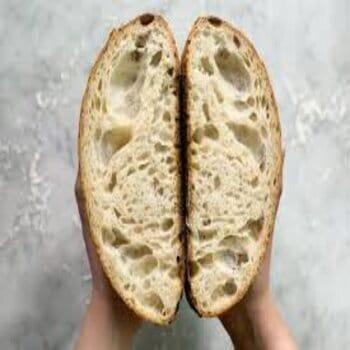 Store bread cut-side down