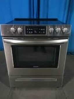 self cleaning Frigidaire oven
